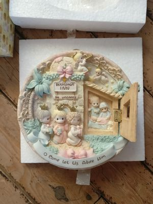Precious Moments Nativity Plate for Sale in Salt Lake City, UT