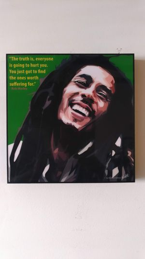 Bob Marley Famous Pop Art Wall Canvas for Sale in Queens, NY