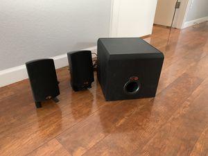 Klipsch ProMedia 2.1 THX speakers with subwoofer for Sale in Phoenix, AZ