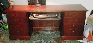 Solid Wood Computer Desk for Sale in Salt Lake City, UT