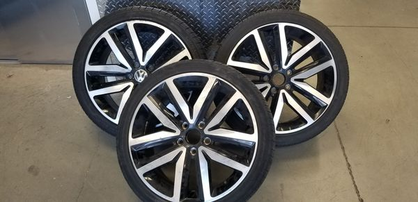VW GLI factory wheels and tires