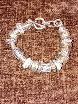 Silver And Gold Tone Bracelet for Sale in Spartanburg,  SC