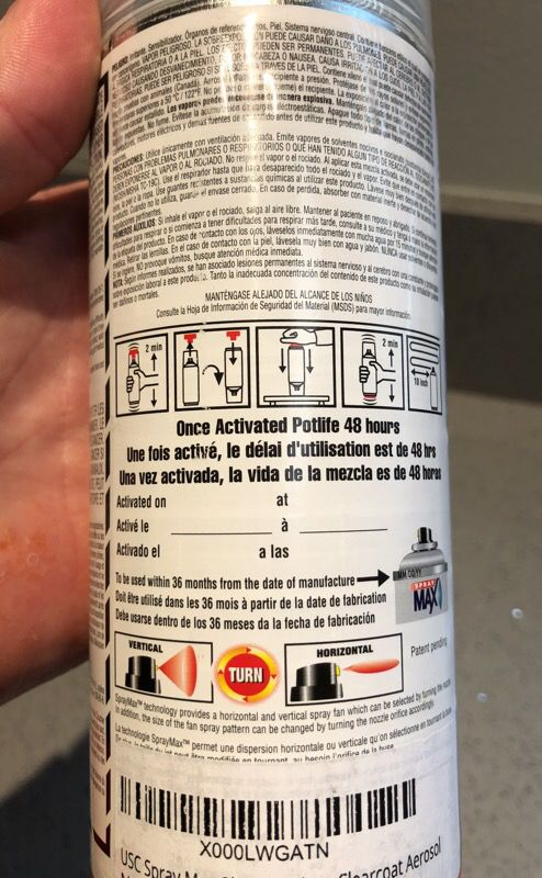 2K Clear Coat Auto Car Spray Max 368 0061 for Sale in Torrance, CA - OfferUp