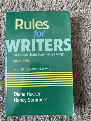 Rules for Writers for Sale in Murfreesboro, TN