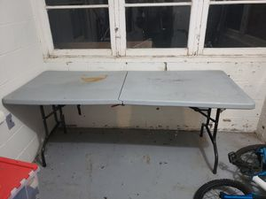 6ft foldable table for Sale in Hillsboro, OR
