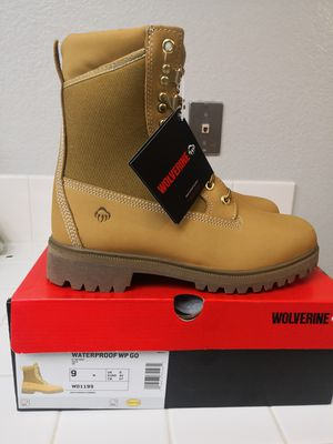 Brand new wolverine soft toe work boots size 9 for Sale in Riverside, CA