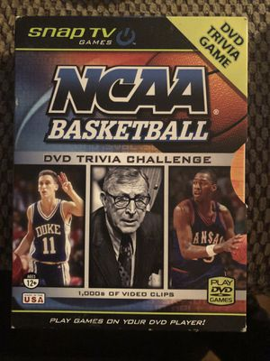 NCAA basketball trivia DVD challenge for Sale in Miramar Beach, FL
