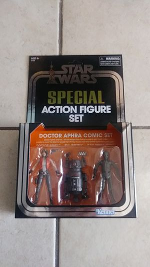 SDCC Star Wars Hasbro Doctor Aphra comic set for Sale in National City, CA
