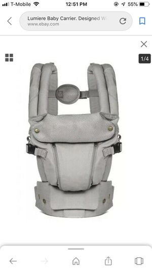 Baby carrier lumiere for Sale in Las Vegas, NV