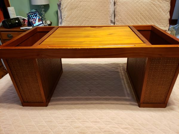 Wood Bed Laptop Tray