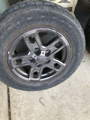 "18"" wheels for Toyota Tundra. for Sale in Dallas, TX"