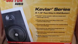 Dayton audio Kevlar 6 1/2 in wall sprakers for Sale in West Palm Beach, FL