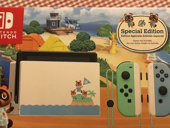 Nintendo Switch - Animal Crossing: New Horizons Edition - Switch for Sale in Lynnwood,  WA