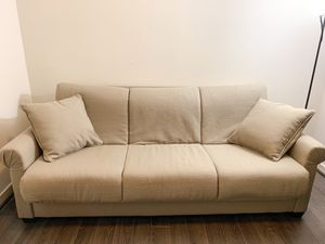Tan Sleeper Sofa - CLEAN, LIKE NEW, 50% off Retail, FREE DELIVERY* for Sale in Washington, DC