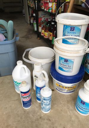 Assorted pool products and accessories for Sale in North Potomac, MD