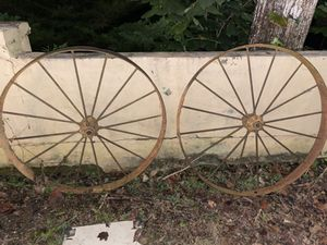 Antique wagon wheels for Sale in Braselton, GA