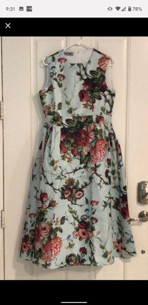 Sage green floral dress for Sale in Riverside, CA
