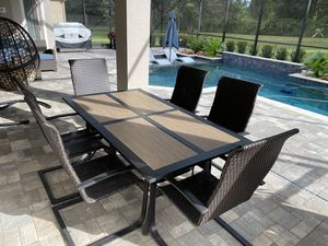 Table and Chairs Outdoor Furniture for Sale in Clermont, FL