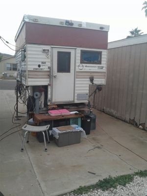 Sportster 7 camper and custom trailer for Sale in Phoenix, AZ