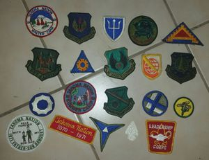 50% OFF TODAY ONLY!!! 20 Vintage Patches Air Force & Camps Antique for Sale in Scottsdale, AZ