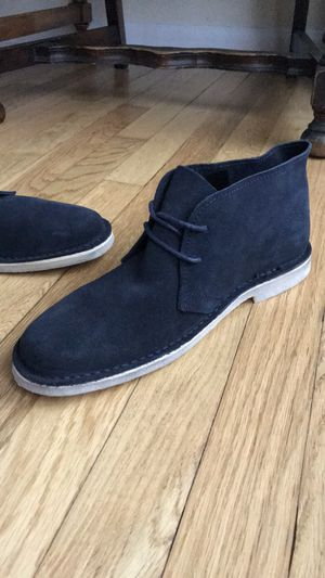 Desert Chukka Boots in Navy Blue Suede for Sale in Northfield, OH