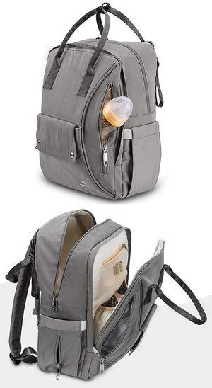 (NEW) $15 OMORC Baby Changing Backpack Diaper Bag Multi-functional w/ Stroller Hooks, Cooler Pockets for Sale in South El Monte, CA