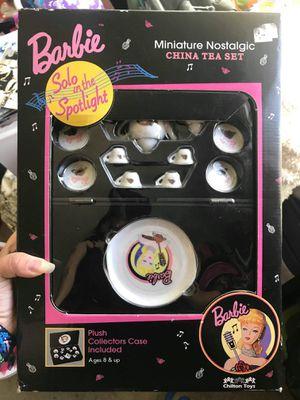 New barbie solo in the spotlight tea set for Sale in Sacramento, CA