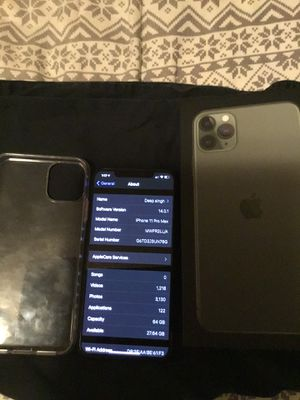 iPhone 11 Pro Max GB 64 for Sale in Vancouver, WA