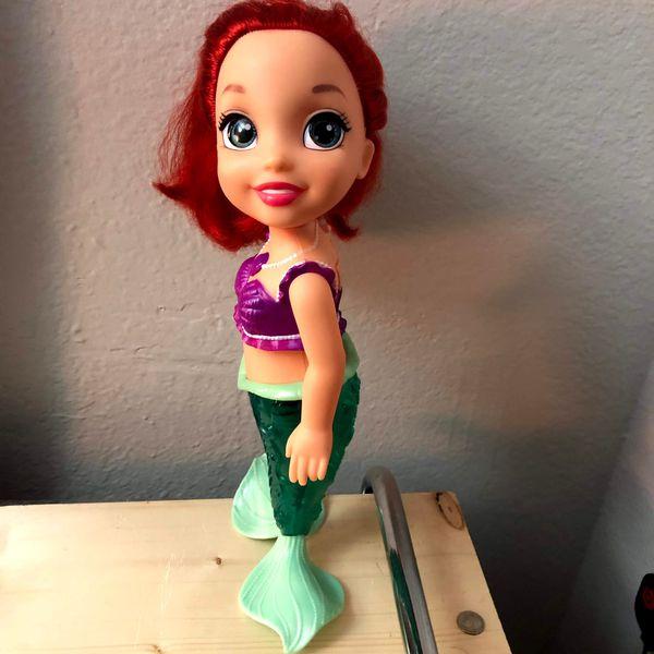 Kids Bath toy Little mermaid Ariel doll