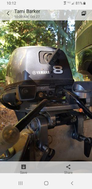 Stolen Yamaha 8hp kicker motor for Sale in Monroe, WA
