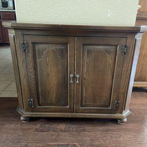 Solid Wood 2 Door Accent Cabinet for Sale in Keller, TX