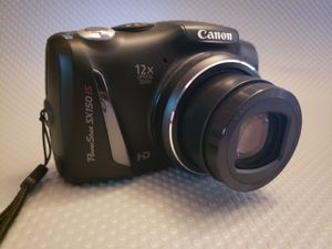 Canon PowerShot SX150 IS digital camera for Sale in Webster, NY