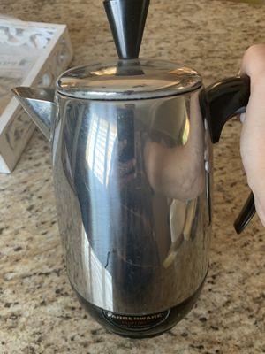 "Vintage Antique Electric Farberware "" Superfast "" Coffee Percolator for Sale in Newark, CA"