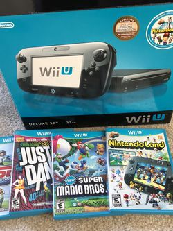 Wii U And Games for Sale in Las Vegas,  NV