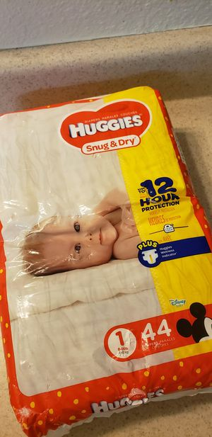 Huggies diapers size 1 for Sale in Dallas, TX