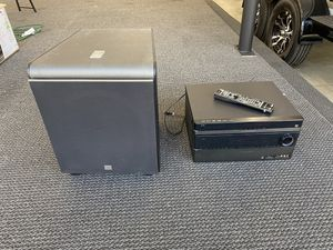 Harmon Kardon Blu-ray DVD player stereo receiver jbl subwoofer for Sale in Auburn, WA