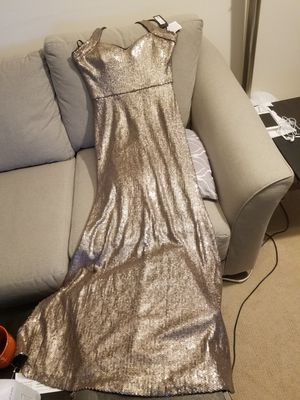 Wedding off gold dress, size 10 for Sale in West McLean, VA