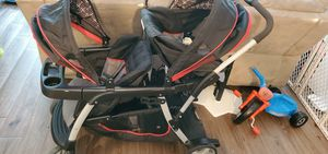 Sit and stand double stroller bought 7 months ago brand new used a handful of times for Sale in Austin, TX