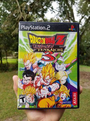 Dragonballz budokai tenkaichi 3 for Sale in Winter Haven, FL