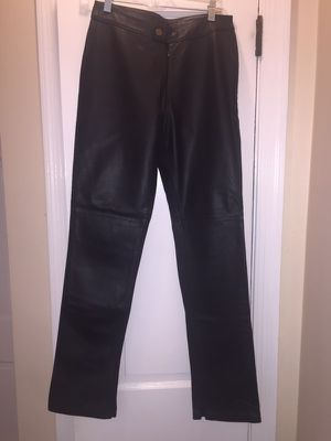 Diesel women's leather pants for Sale in Alexandria, VA