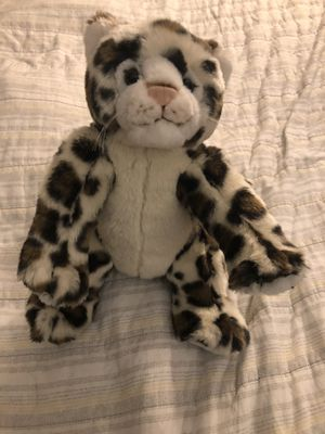 Snow leopard build a bear stuffed animal doll plushie for Sale in Lemont, IL