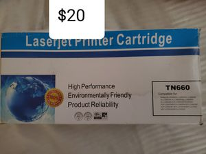 Laserjet printer cartridge $20 tn660 for Sale in Chicago, IL