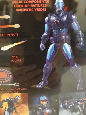 Iron Man Stealth Armor Suit One:12 Collective Action Figure - Previews Exclusive for Sale in El Monte, CA