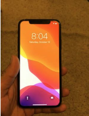 iPhone X 256 gb unlocked for Sale in Allen Park, MI