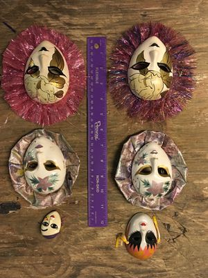 Ceramic and metal masks for Sale in Smithville, MO
