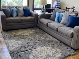 Sofa & Love With Rug!! for Sale in Blackwood, NJ
