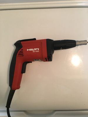 Hilti Drywall screwdriver gun 4500 for Sale in Falls Church, VA