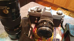 Canon tlb camera with zoom and ass. for Sale in Winchester, VA