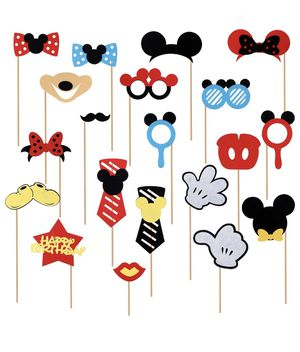 Disney Mickey and Minnie photo booth props for Sale in Auburn, WA