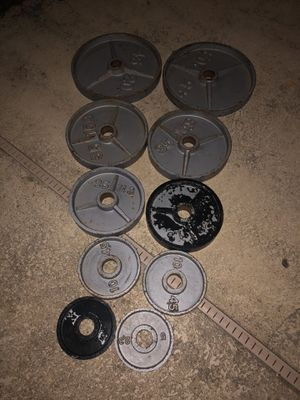 plates weights for Sale in Arlington, TX